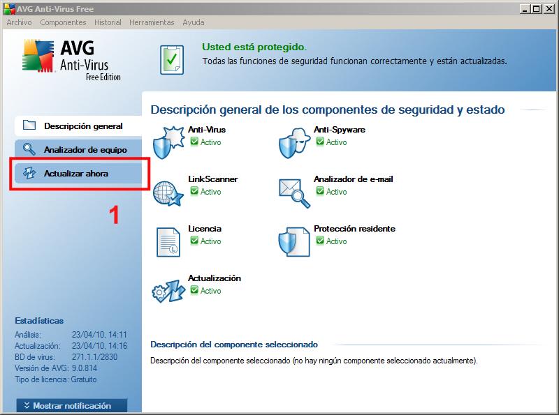 Actualización AVG 01