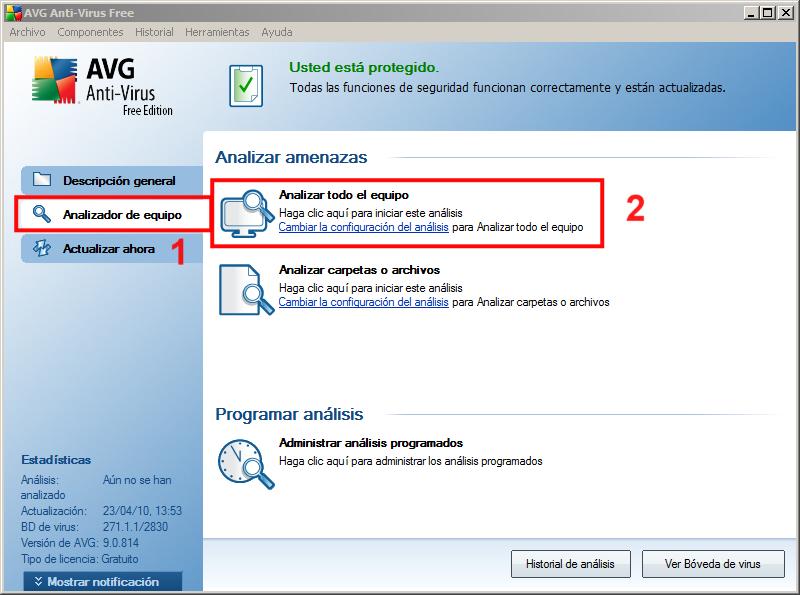 Análisis AVG 01