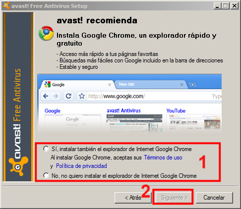 Instalación Avast 03