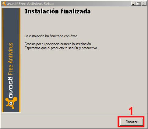 Instalación Avast 05