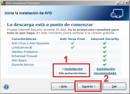 Instalación AVG 02