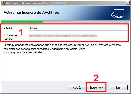 Instalación AVG 07