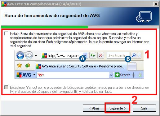 Instalación AVG 09