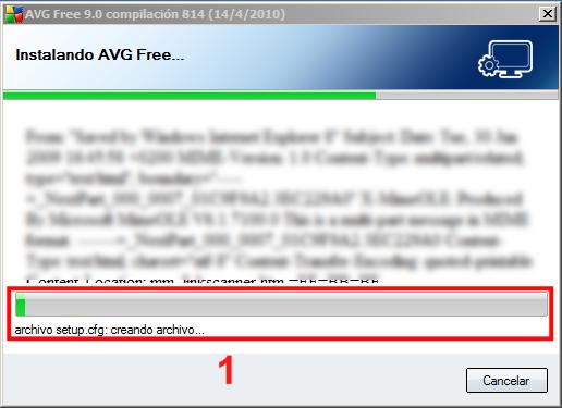 Instalación AVG 10