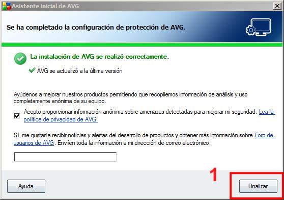 Instalación AVG 11